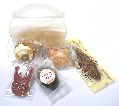 動物職人お菓子セット 1200円(税込み)